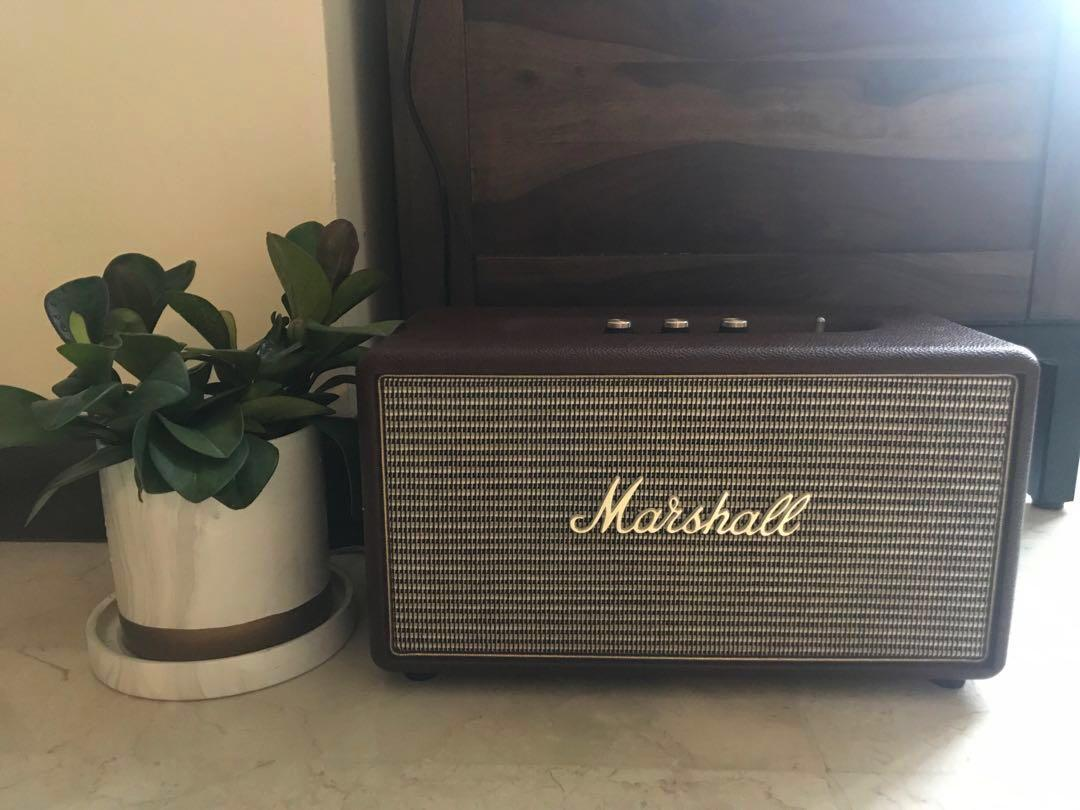 Marshall Stanmore Speaker Retro Brown