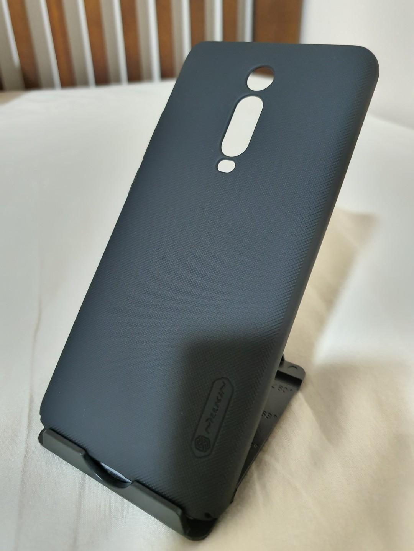 Mi 9T Pro Case - Nillkin Super Frosted Shield Case (Black)