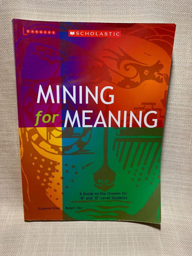 mining for meaning upper sec