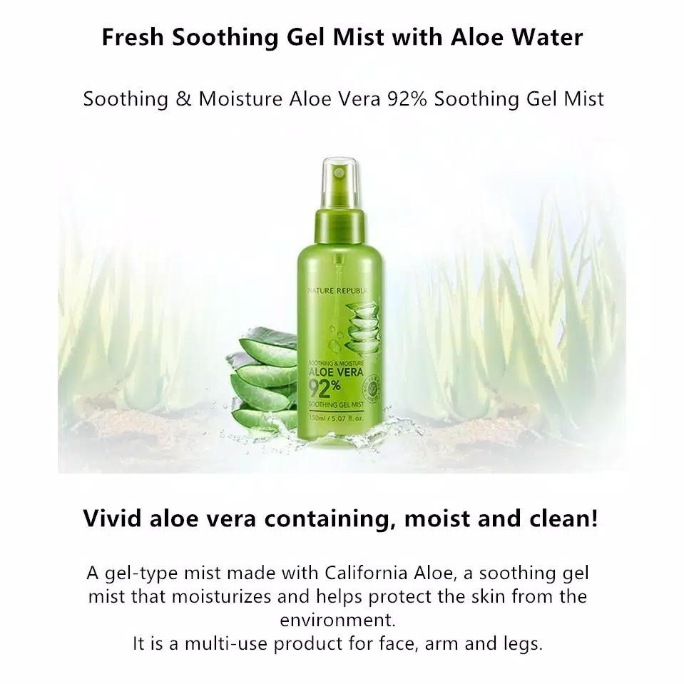 #1111special Nature Republic Aloe Vera Soothing Gel Mist