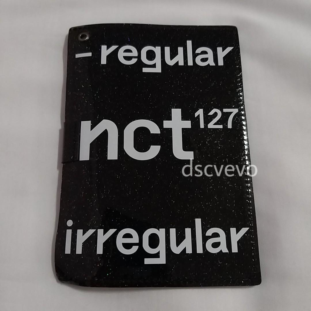 NCT127 Regular-Irregular Passport Holder