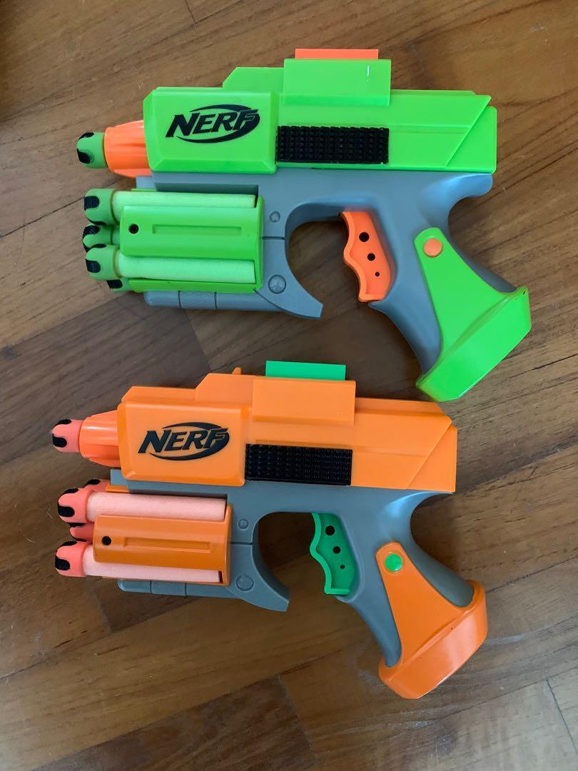 Nerf gun battle set