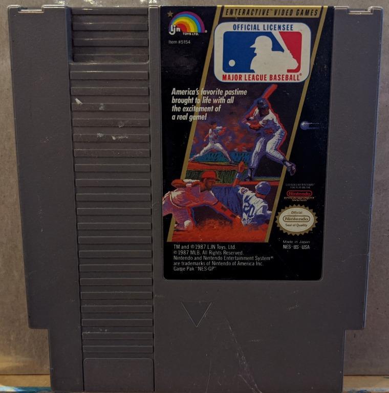 *NES* Major League Baseball
