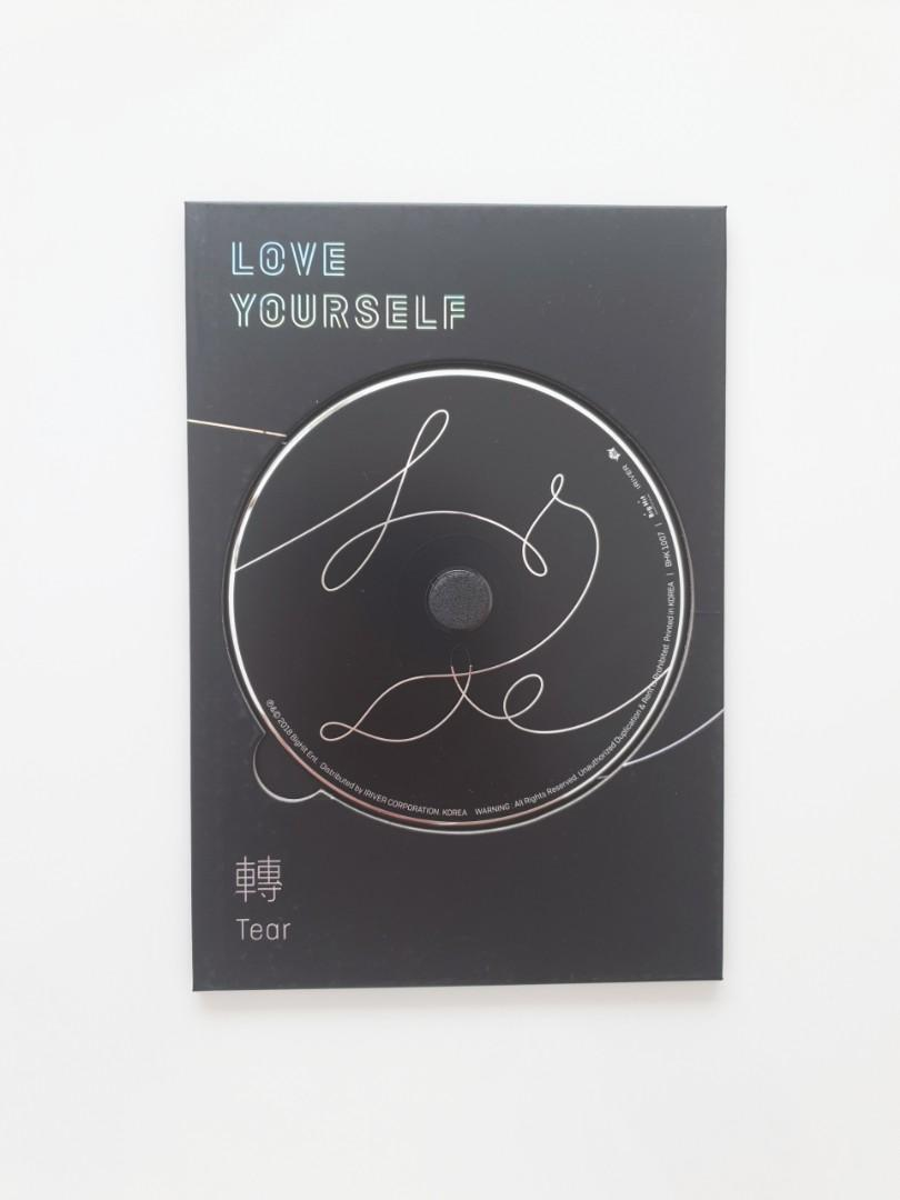 [OFFICIAL] NEW + UNPLAYED BTS Love Yourself 轉 'Tear' (Version. O) Album