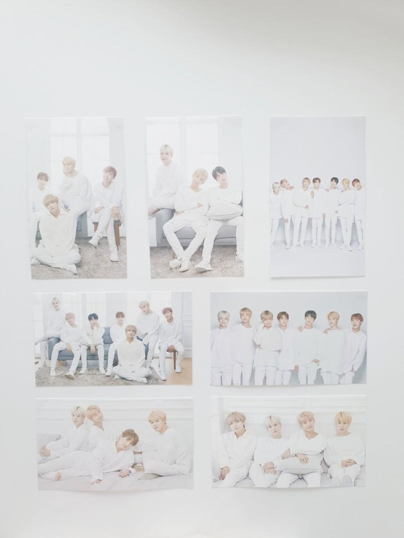 [OFFICIAL] BTS x Mediheal Mask Ex. Photocards | Whole Group + Unit (Hydrating)