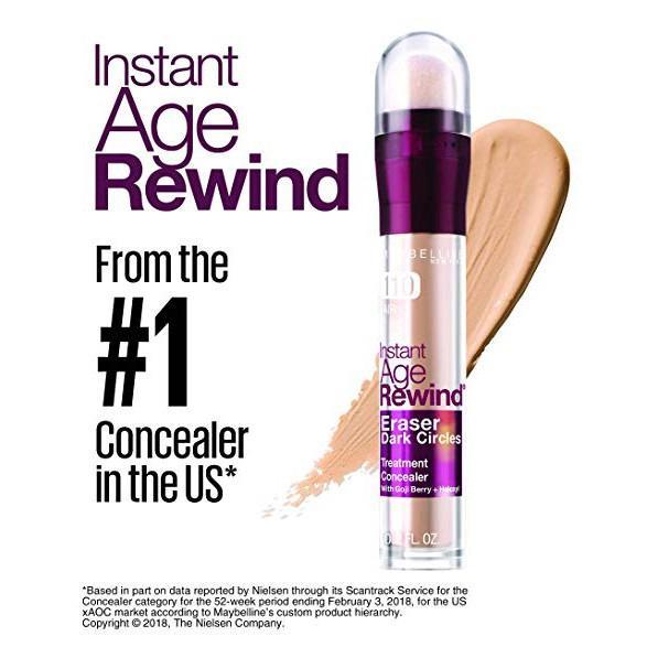 ORIGINAL BPOM Maybelline Instant Age Rewind Eraser Dark Circle Treatment Concealer 3