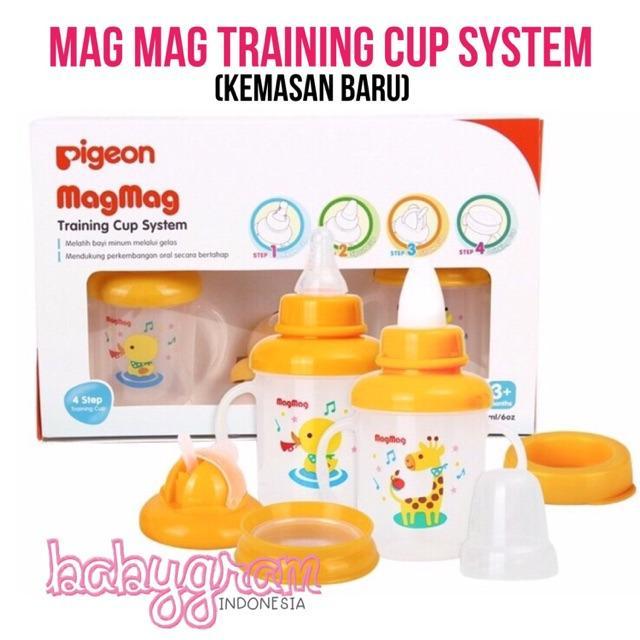 Pigeon Gelas MagMag Mag-Mag Mag Mag TRAINING CUP SYSTEM 3