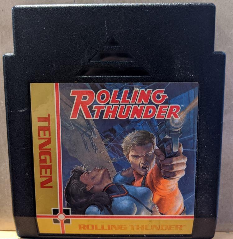 Rolling Thunder *NES*