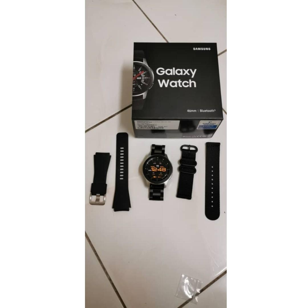 Samsung Galaxy Watch 46mm- Used just 3 months