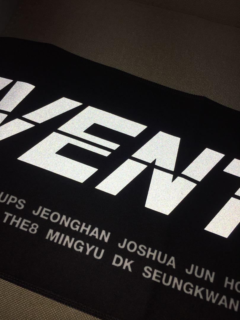 [WTS]Seventeen Ode to you merchandise concert slogan