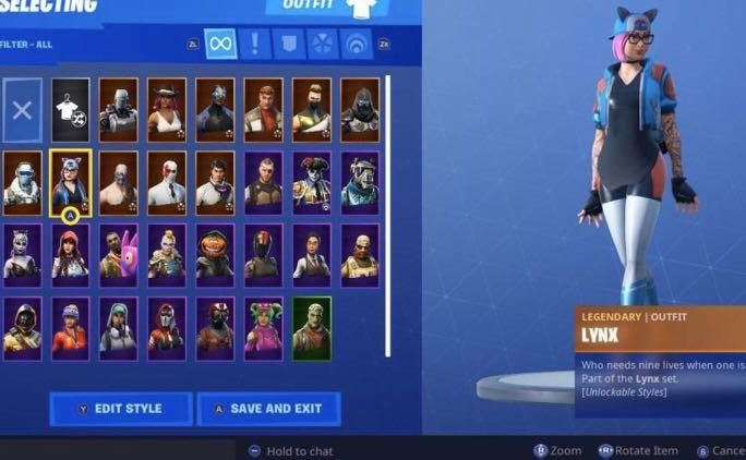 Stacked Fortnite Account, no scam 100% the price is negotiable