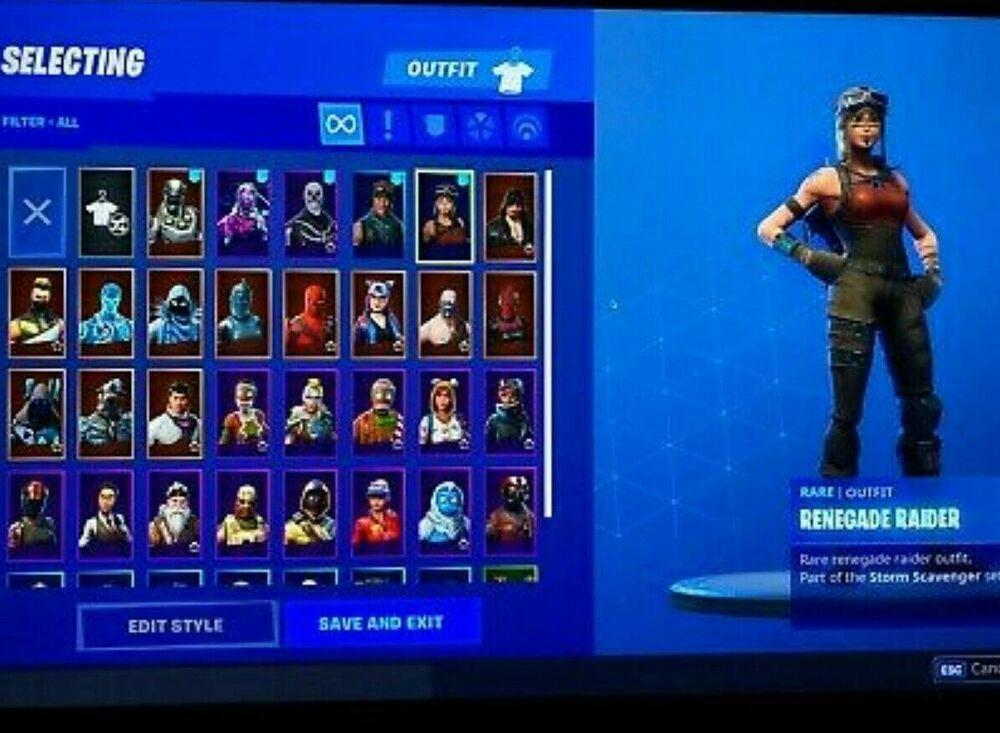 STACKED FORTNITE ACCOUNT NO SCAM 100% can negotiate