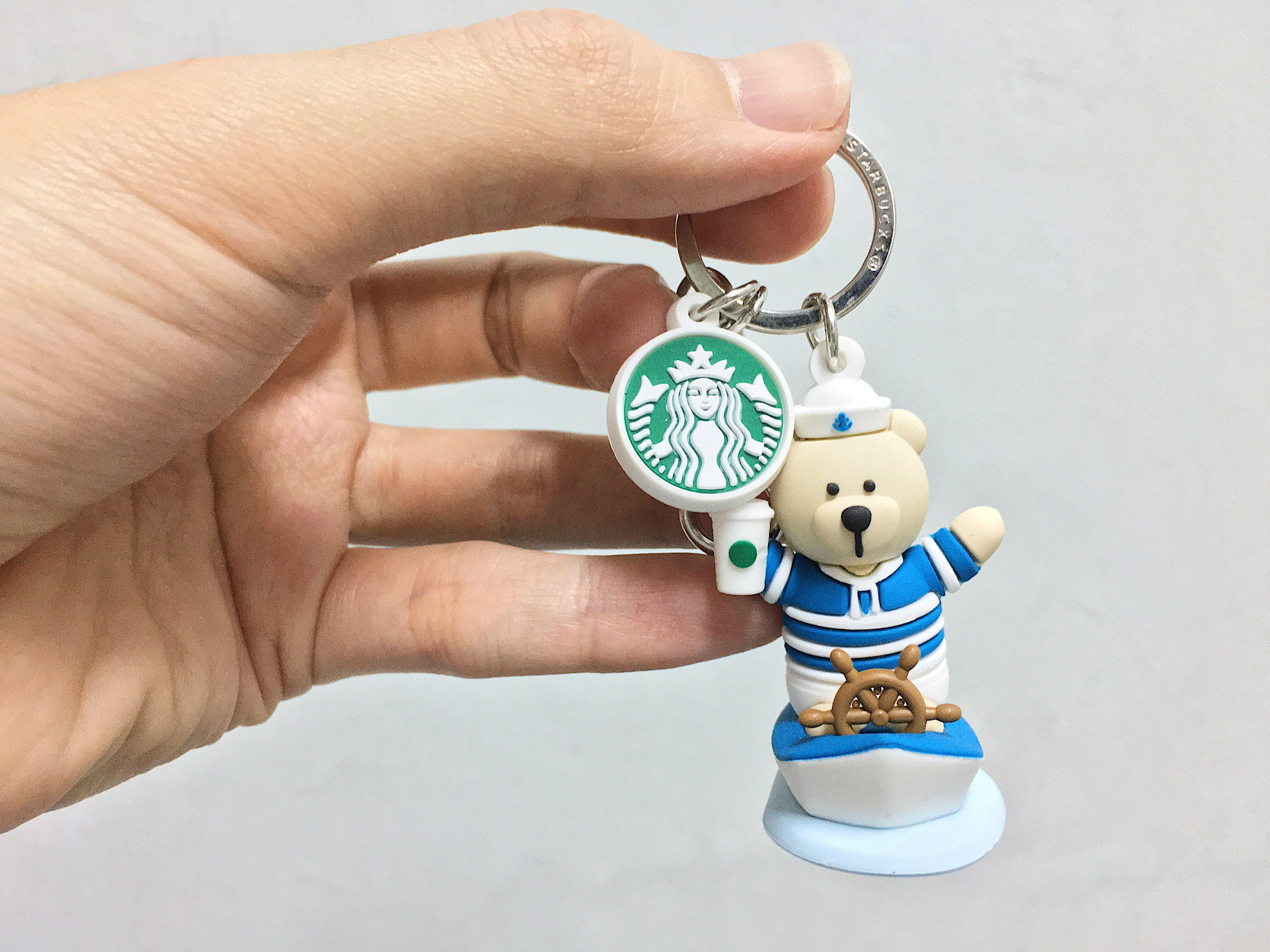 Starbucks Summer Bearista Keychain (2019)