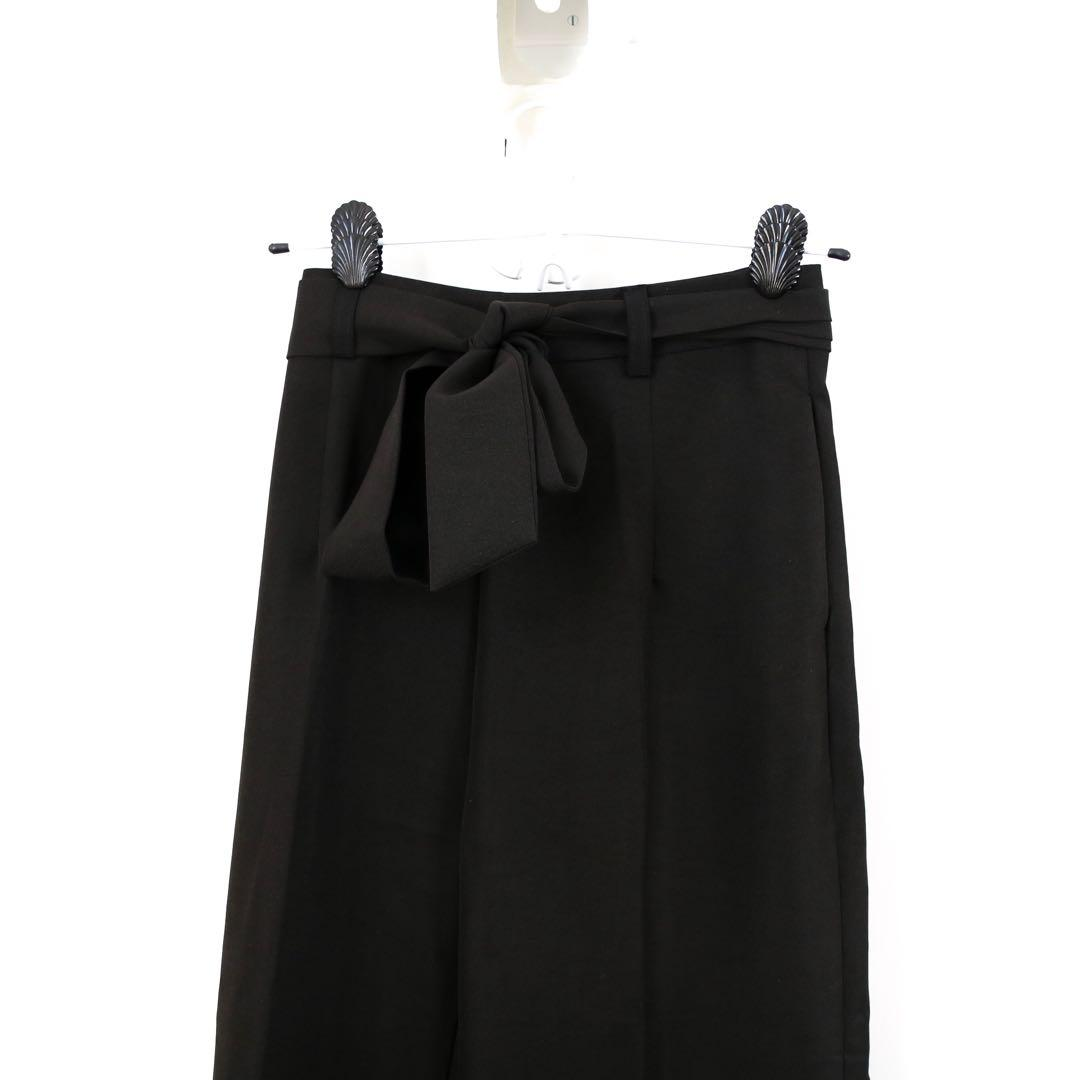 Straight Fit Culottes Trousers