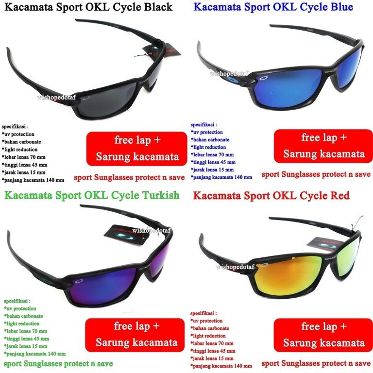 Sunglasses  Kacamata Pria Sport Cycle