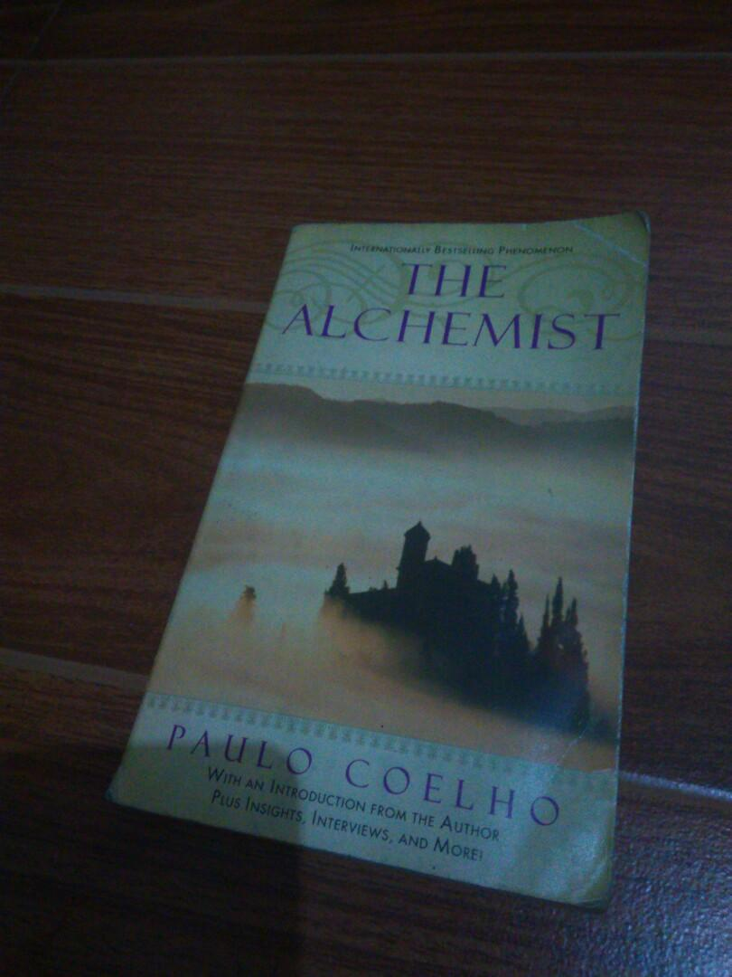 Set of 2: The Alchemist by Paulo Coelho and Pretty Dead by Francesca Lia Block