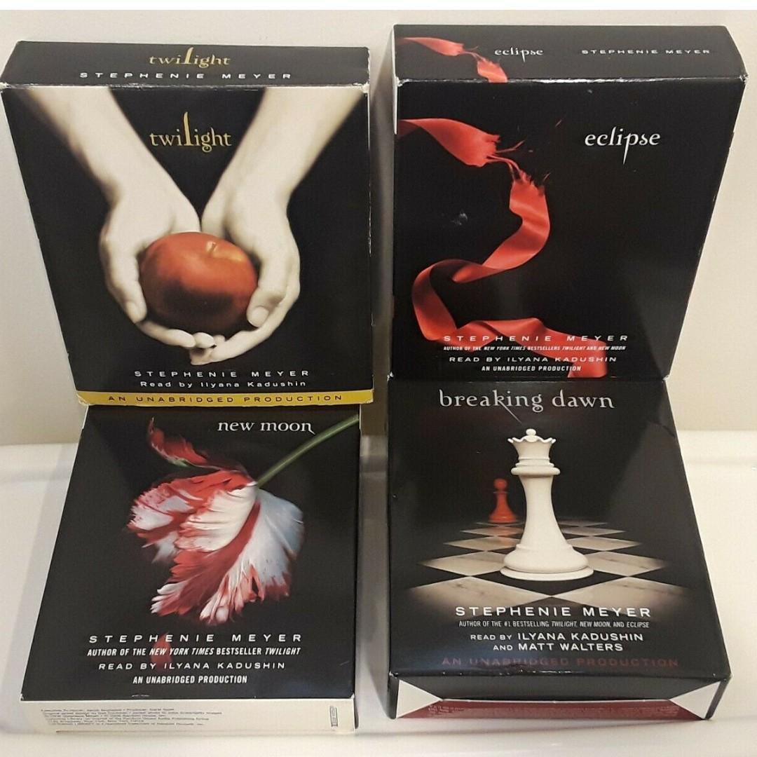The Twilight Saga Collection (Twilight/New Moon/Eclipse/Breaking Dawn) Audio CD – Audiobook, CD, Unabridged