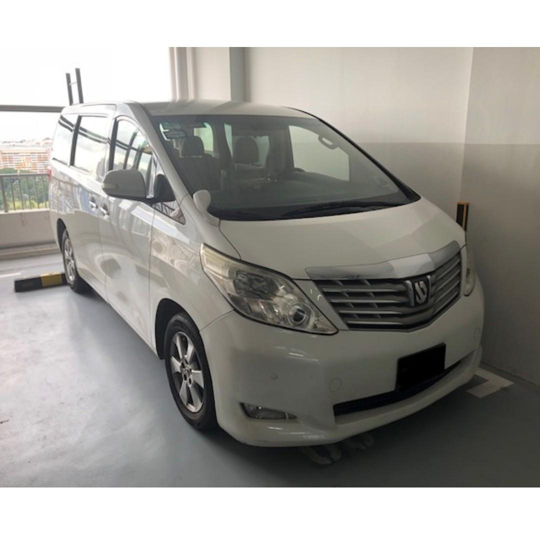 Toyota Alphard/Vellfire with rental rebate