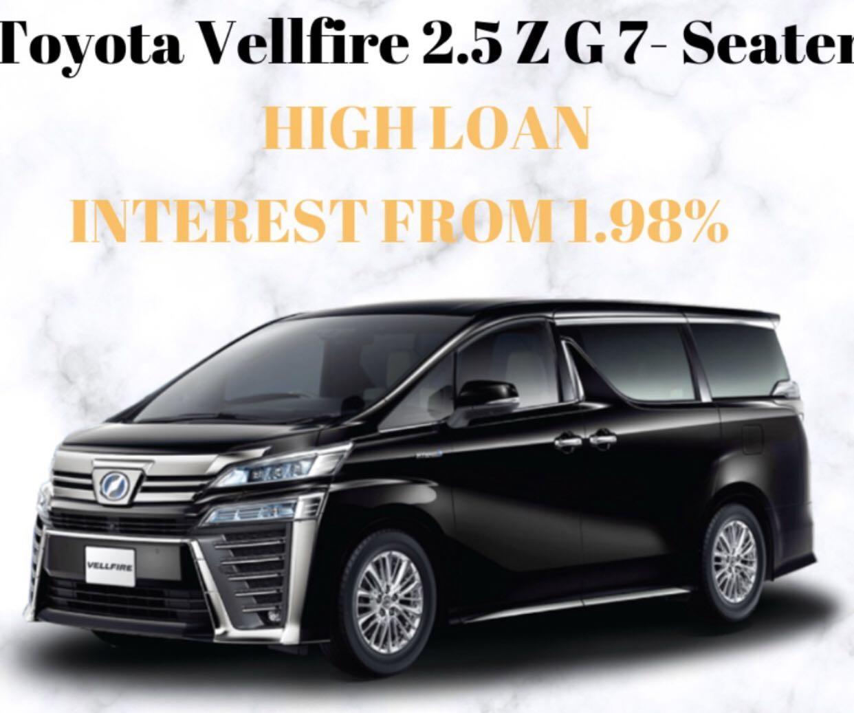 Toyota Vellfire 2.5 ZG (Dual Power Door/Sun Roof) Auto