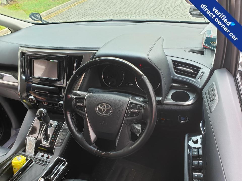 Toyota Vellfire 2.5Z G-Edition CVT Auto