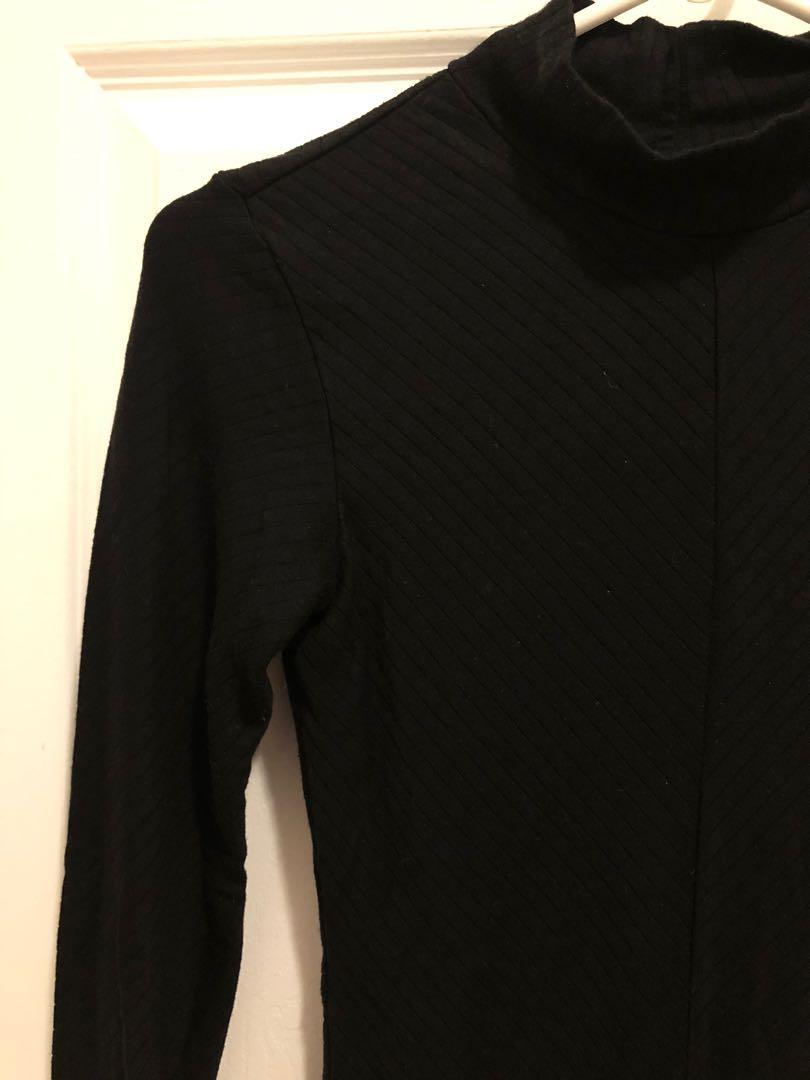 Uniqlo x Alexander Wang Mockneck Heattech Bodysuit