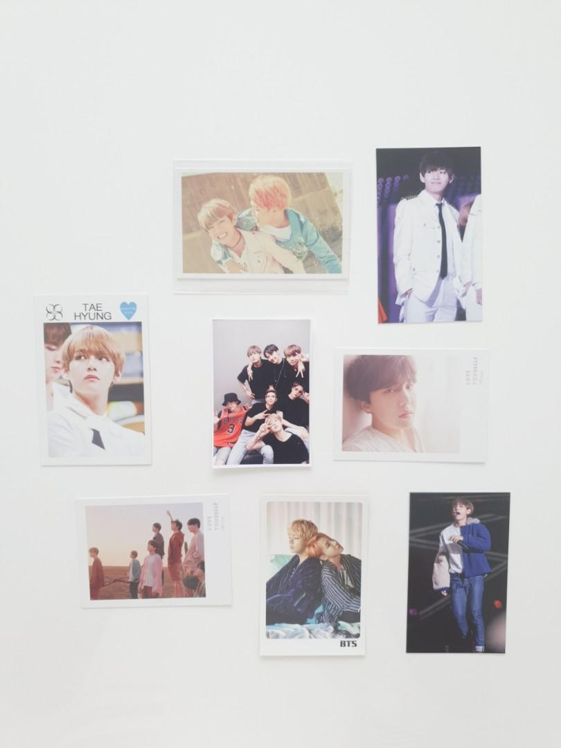 [COLLECTABLES] BTS Member Photocards   V, Jimin, Jhope, Group