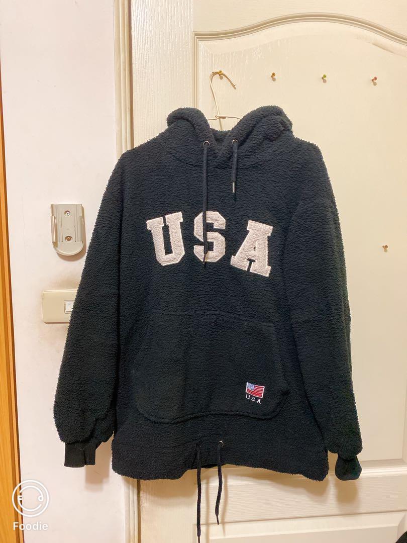 USA 顯瘦熊寶寶帽T