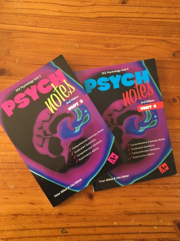 VCE Psychology - Psych Notes 2nd Edition Unit 3&4 by Peter Milesi & Lisa Vainer