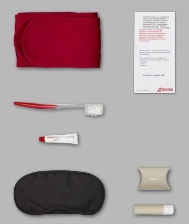 Victorinox Metal Case with Travel Amenity Kit by Swiss Air Business Class