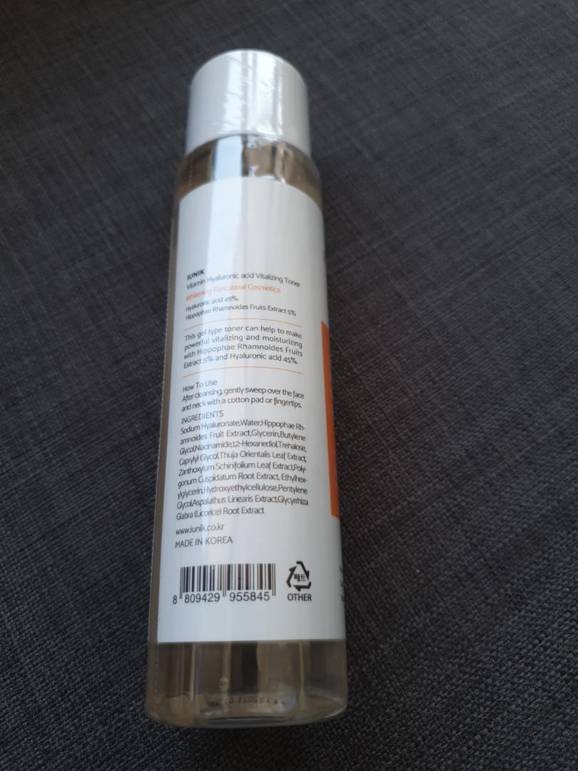 Vitamin Hyaluronic Acid Vitalizing Toner