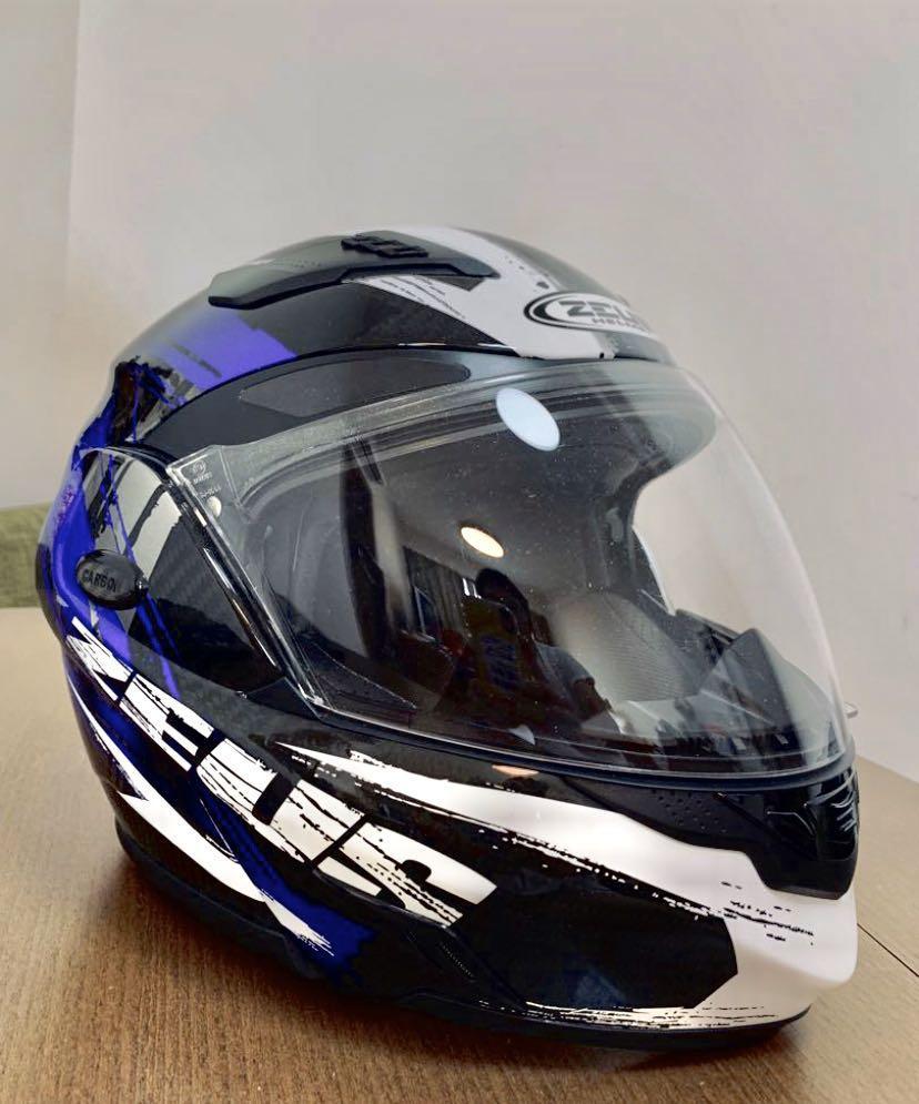 Zeus Hamlet Motorbike 電單車 頭盔 大款