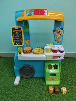 Fisher Price Laugh and Learn Fun Food Truck