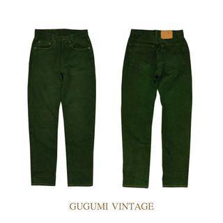 NO.85- Levi's深綠牛仔褲