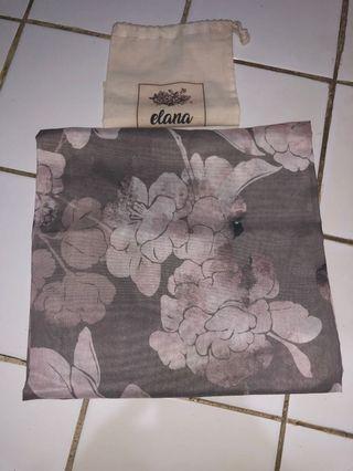 #1111special Selma - Elana printed square voile/voal