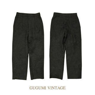 NO.89-黑直筒西裝褲