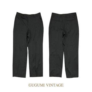 NO.90-DKNY直筒西裝褲