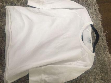 James Perse white Sweatshirt (Size 1) Brand New