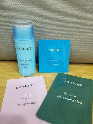 Laneige trial set