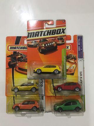 Matchbox Volkswagen GTI Lot