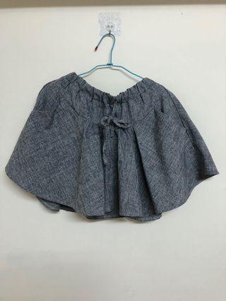 灰色褲裙#換物