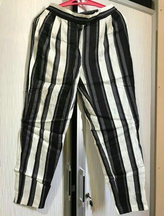 Stripe Pants zara new