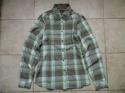 Kemeja Flannel Gunung SALEWA Therma Polarlite Shirt
