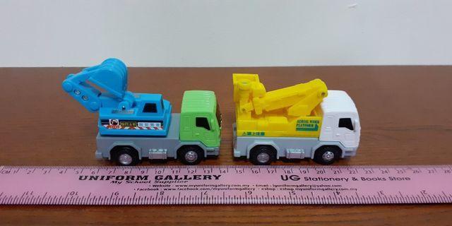 Works Vehicles plastic models - LOT
