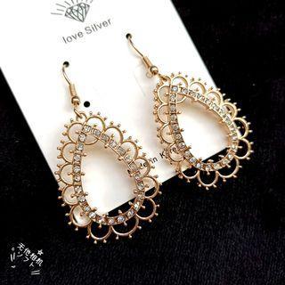 (買5送1)歐美流行耳勾式耳環#剁手時尚