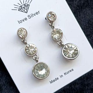 (買5送1)歐美流行寶石耳環/小款#剁手時尚