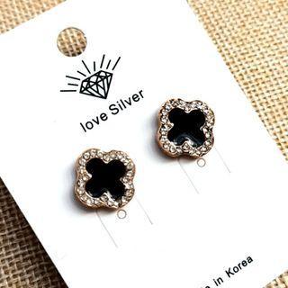 (買5送1)時尚幸運草貼耳式耳環#剁手時尚