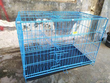 Kandang kucing tingkat size L free ongkir bayar ditempat