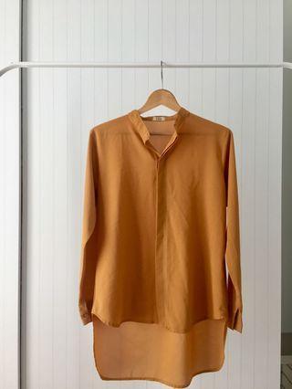 Mustard Long Shirt