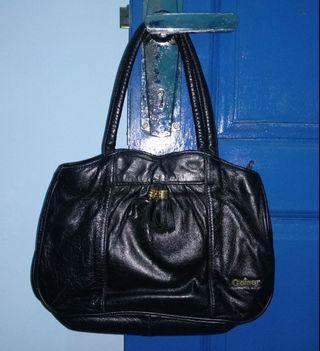 #1111special [Nego/barter] Tas hitam kulit