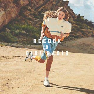 """GIGI HADID TRACK JACKET"" Reebok Classic 全新 Gigi Hadid 吉吉哈蒂 白色 撞色 外套 夾克 運動外套 風衣 FI5071"